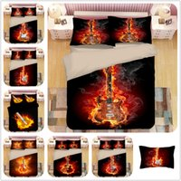 Bedding Set Ghost Guitar Special 3D Pattern Style Reactive P...