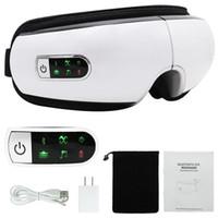 Drahtlose Bluetooth-Wiederaufladbare Augenpflege-Massagegerät Komfortables Aufwärm-Augentherapie Relax-Sehvermögen Pflegespannung Ermüdungserleichterung