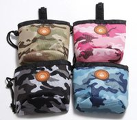 Pet Dog Pouch Dog Training Treat Borse portatili staccabili Doggie Pet Feed Pocket Pouch Puppy Snack Ricompensa interattiva Marsupio
