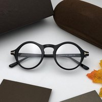5526 Luxury brand circle optical glasses fashion classic Ret...
