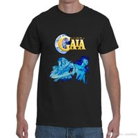 T-shirt da uomo di colore nero S-5XL di Illusions Of Gaia Snes