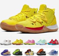 도착 키즈 Kyrie 신발 TV PE 농구 신발 저렴한 20 주년 기념 스폰지 X Irving 5s V 5 스포츠 스니커즈