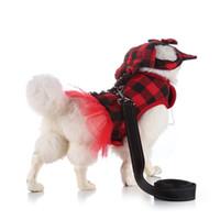 Collares de perro correa comodidad y moda mascota correa de pecho raya corbata correa cuello chaleco gato productos transpirables # 4J10