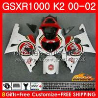 Frame voor Suzuki Lucky Strike GSX-R1000 GSXR1000 K2 GSX R1000 00 02 Bodys Kit 14HC.15 GSXR-1000 GSXR 1000 00 01 02 2000 2001 2002 Kuip