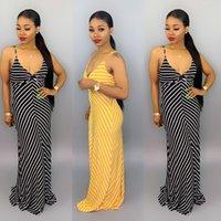 Vestito estivo 2020 Nuova vendita calda in Europa e America Abito moda sexy Caratteristico Sling Sling Sling Sling Dress Dress