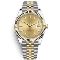 Montre de Luxe Montre de Luxe Reloj automático Classic Men's Day-Fecha Reloj 40 mm Todo acero inoxidable 5atm Impermeable Super Bright Orologio di Lusso