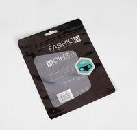 Paquete de moda Paquete de venta al por menor Embalaje Empaquetado Opp Bag Bolsa de cremallera Bolsas de bloqueo de cremallera para máscaras 15 * 19 cm