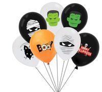 15PCS 12 بوصة هالوين البالونات طفل لعبة طفل مطاط الهليوم بالونات زفاف جديد ديكور عالية الجودة للنفخ بالونات الهواء شحن مجاني