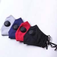 Solid Color Civilian Cotton Cloth Breathing Valve Adult Anti...