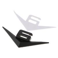 V6 3D ملصق للدراجات النارية السيارات السيارة الخلفي معدن شارة شارة لاصقة