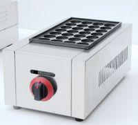 Продукты для пищевой промышленности Коммерческий LPG Газовый рыбный гриль Машина Takoyaki
