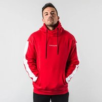 Felpe con cappuccio da uomo Felpe uomo autunno inverno palestra uomo fitness in esecuzione formazione jumper giacca giacca casual sportswear top