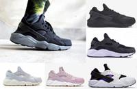 2018 Yeni Huarache Ben Koşu Ayakkabı Erkekler Kadınlar Için Beyaz Siyah Sneakers Üçlü Huaraches 1 Eğitmenler huraches Spor Ayakkabı