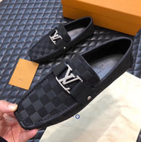 Designer de luxe baskets baskets gaufrage cuir véritable mode plat occasionnel Pois chaussures running hommes pas cher chaussures