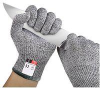 قفازات مقاومة للقطع متعددة الوظائف المضادة خفض قفازات قص والدليل على الطعنة مقاومة الفولاذ المقاوم للصدأ أسلاك شبكة معدنية مطبخ جزار