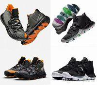 detailed look efcd4 8f22c 2019 Limited 5 5s V zapatos de baloncesto para hombre Black Magic Kyrie  Chaussures zapatillas deportivas
