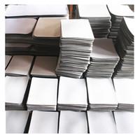 Logo imprimé caoutchouc tapis de souris personnalisé rectangle optique Persoanlized personnalisé ordinateur vierge tapis de souris de jeu Sublimation
