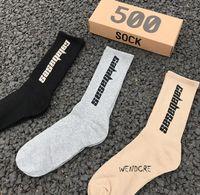 Мужские носки СЕЗОН 6 Мужская мода BASAS носки скейтборда Letter Printed 3 пар / серия Хлопок Носок