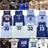 Xavier Basketball Jersey NCAA Tyrique Jones Naji Marshall Paul Scruggs Zach Freemantle Moore Goodin Bishop Carter Crawford Oeste