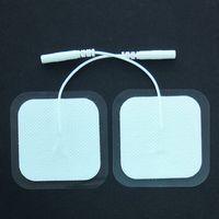 وسادات القطب الكهربائي مقاس 2 بوصة قابلة لإعادة الاستخدام قابلة لإعادة الاستخدام حتى 25 مرة لكل ماركة Electrode Med X متوافقة مع معظم موديلات الماكينات TENS
