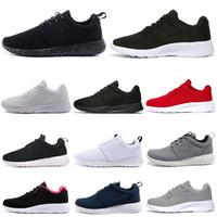 Tanjun تشغيل الاحذية الرجال النساء Chaussures لندن 1.0 3.0 ثلاثية أسود أبيض أحمر رجالي المدربين الرياضة أحذية رياضية 36-45