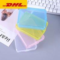 DHL سفينة تحطيم حاوية مربع حماية حالة بطاقة الحاويات صندوق بطاقة ذاكرة cf بطاقة أداة البلاستيك شفافة تخزين سهلة لتحمل FY802
