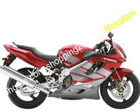 Kit Cowling per Honda CBR600 F4i 04 05 06 07 CBR 600 CBRF4i FS CBR 600F4I 2004-2007 Grigio rosso Moto Fairing (stampaggio a iniezione)