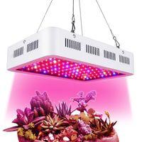 ABD Stok Yüksek Güç 1000 W LED Işık Büyümek Tam Spektrum 380nm-840nm 1200 W 1500 W Bitki Işıkları Büyümek Kutusu Kare Çift Çip