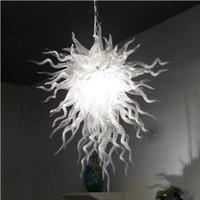Меньшие размеры Художественные лампы Американские гордости люстры ручной работы вручить стеклянный люстр индивидуальный свет