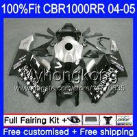 HONDA CBR 1000RR 04-05 CBR Enjeksiyon + Tankı 1000 RR 2004 2005 Sevenstars siyah 275HM.38 CBR1000 RR CBR1000RR 04 05 OEM Karoseri kiti