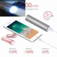 Yoobao Mini Power Bank LED luce Batteria esterna Caricatore portatile Cellulare PowerBank per Xiaomi batterie externe custodia di ricarica per iPhone