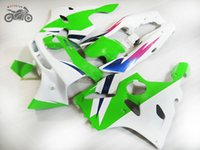Personalice sus propios kits de carenario para Kawasaki Ninja 94-97 ZX-6R Green White Moto Failings Set ZX 6R ZX6R 1994 1995 1996 1997