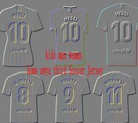Compre 2019 Kit De Niños Tercero VIDAL MESSI SUAREZ Jersey De Fútbol ... 71a698d4a3b0e