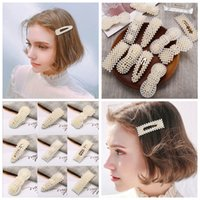 Fashion Hairpins Simulated Pearl Hair Clips For Women Girls ...