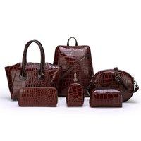 Women's bag shoulder Joer diagonal bill woman crocodile double new hand business lading mr fashion bag backpack bag designer Crdjn