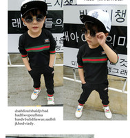 high quality Spring and autumn famous designer children'...