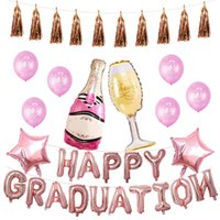 Graduation Season Balloon Set Party Supplies Graduation Cere...