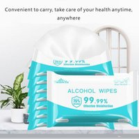 75% Alcohol Wipes 15*8cm Portable Wet Wipe Disinfecting Disp...