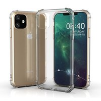 Air Cushion Airbag Soft TPU Transparent Clear Case For iPhone 11 Pro XR XS MAX X 8 7 6 Samsung S8 S9 Plus S10 5G S10E Note 9 10 10+