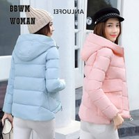 Winter Down Coat Women Short Cotton Jacket Thick Clothing Ko...