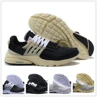 2018 Original Air Cushion Running Shoes White BR Women Designer Trainer Hombres QS All ultra Black White Cream Prestos Casual Sports Sneaker