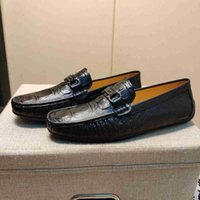 Brand Men cow leather Dress Wedding shoe moccasins Loafers F...