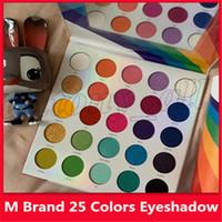 M Marque 25 plus récent couleurs palette ombres à paupières mat Shimmer maquillage fard à paupières Make Colourful Life Palettes 25L Palette Ombre à Paupières Cosmétiques