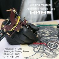 Dragonhawk Shader Tattoo Gun Профессиональная раскраска татуировки Медная катушка сплава 4148