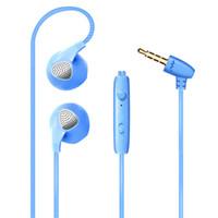 auriculares cable de control inteligente de música general del juego del teléfono móvil con el MIC estéreo bajo la llamada eliminación de ruido HD para iPhone andriod Apariencia del diseño del metal