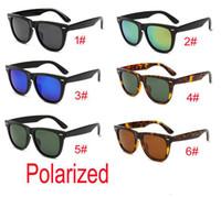 новый бренд пляж черный Мода на открытом воздухе поляризованные солнцезащитные очки для мужчин и женщин Спорт унисекс Солнцезащитные очки Black Frame солнцезащитные очки БЕСПЛАТНАЯ ДОСТАВКА