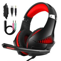 Lama illuminazione Stereo Headphone Giochi 3D Surround Sound con luce LED microfono Gamer luminosa della cuffia per PS4 Tablet PC Laptop G2000