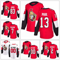 Wholesale Custom Ottawa Senators Dylan DeMelo Jersey 2 Chris...