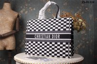 Ms. handbags, new black white, plaid, fashion, simple, atmos...