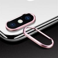 NOVO Mobile Phone câmera traseira de proteção da lente Anel para: iPhone 6 7 X XR XS MAX PLUS Círculo etiqueta frete grátis